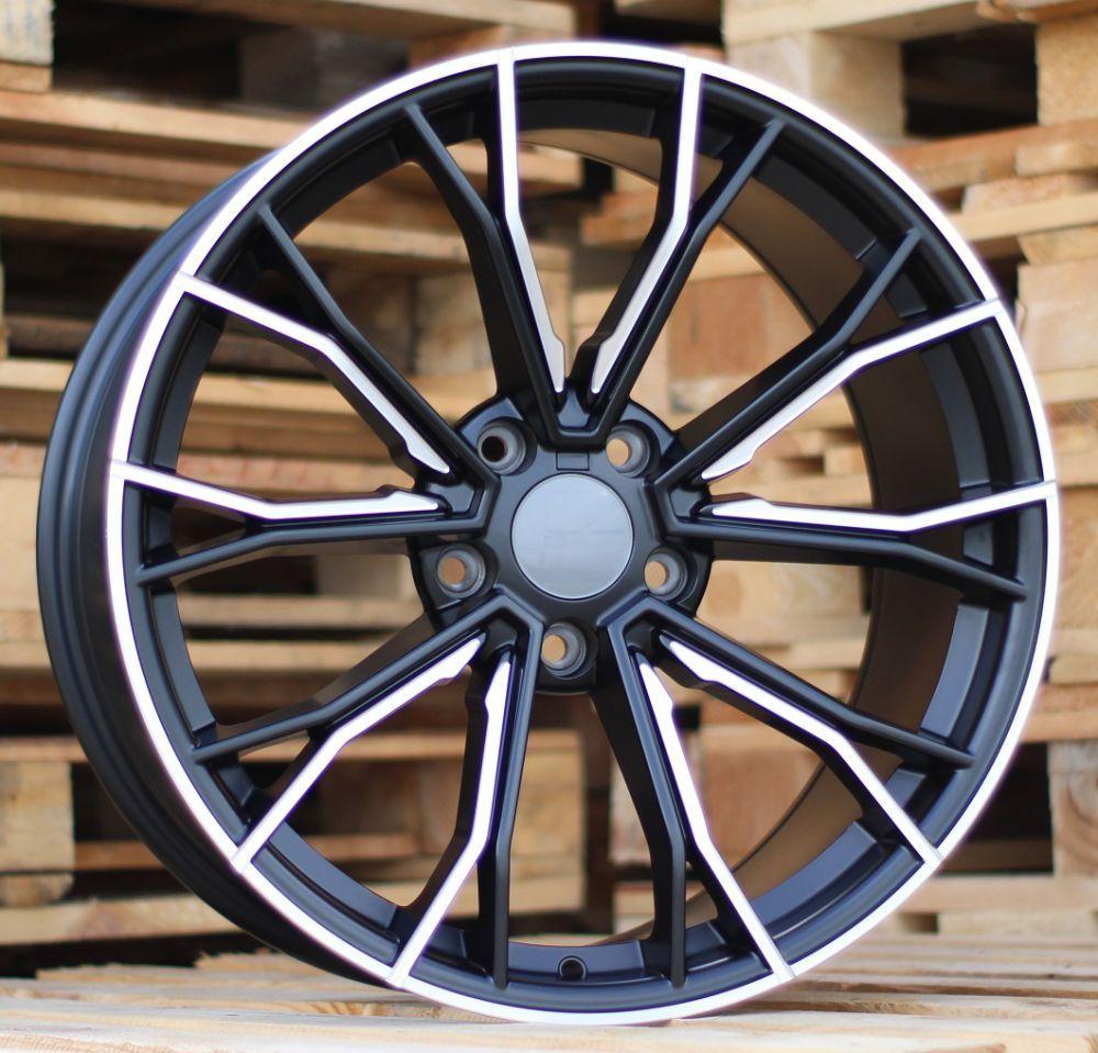 B20X8.5 5x120 ET33 72.56 A5385 Black Half Matt+Milling (Rear+Front) BM (+15eur) (K7+P)## 8.5x20 ET34 5x120