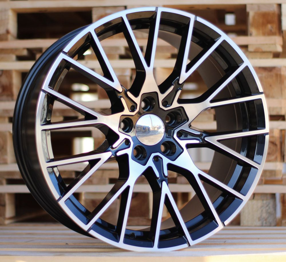 B18X8 5X120 ET38 72.6 A5479 (BK5441) MB+Powder coating RWR (REAR+FRONT) BM (+3eur) (P+K2)## 8x18 ET38 5x120