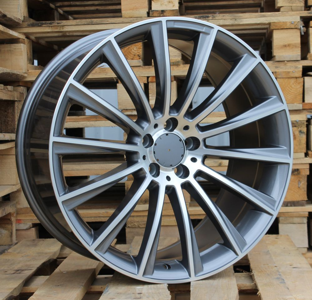 M20X9.5 5X112 ET43 66.6 BY1048 MG (Rear+Front) RWR MER (P1)## 9.5x20 ET42 5x112