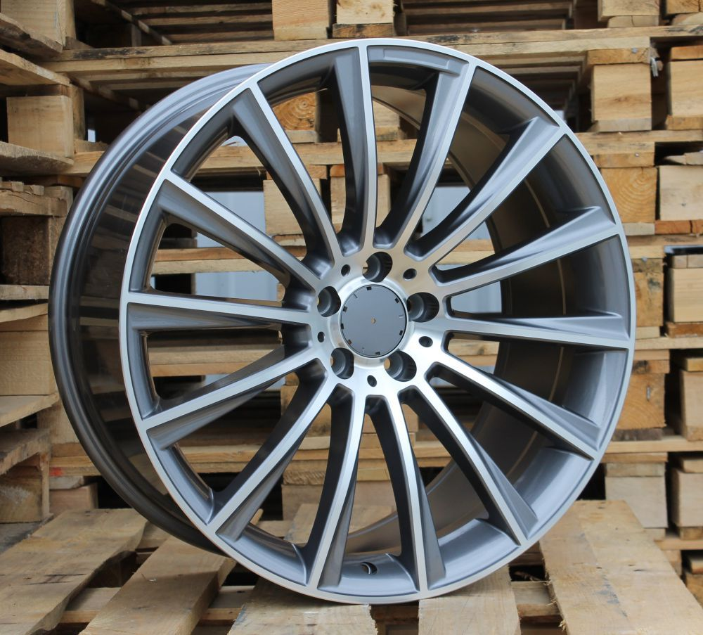 M20X8.5 5X112 ET38 66.6 BY1048 MG+Powder Coating (Rear+Front) RWR MER (+5eur) (P1)## 8.5x20 ET37 5x112