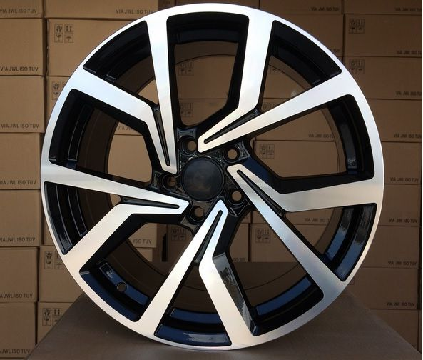 W19X8 5X112 ET45 57.1 BY1154 (BK5125) MB+Powder coating W (+3 eur) (K2)## 8x19 ET45 5x112