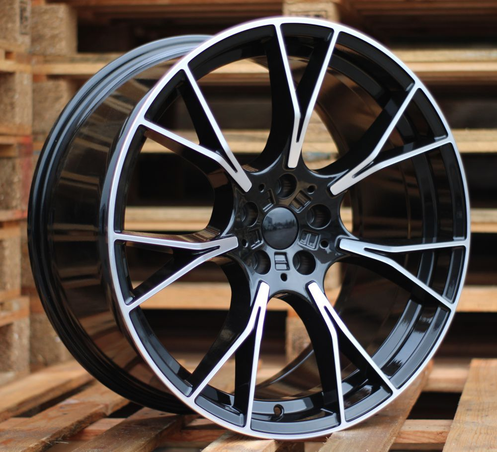 ALU PLATIŠČA B20X8.5 5x112 ET26 66.6 BY1617 MB+Powder Coating (Rear+Front) RWR BM (+5eur) (P)## 8.5x20 ET26 5x112