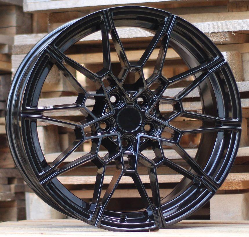 B19X8 5x120 ET36 72.6 BY1674 Black (Rear+Front) BM (+10eur)(K5)## 8x19 ET36 5x120