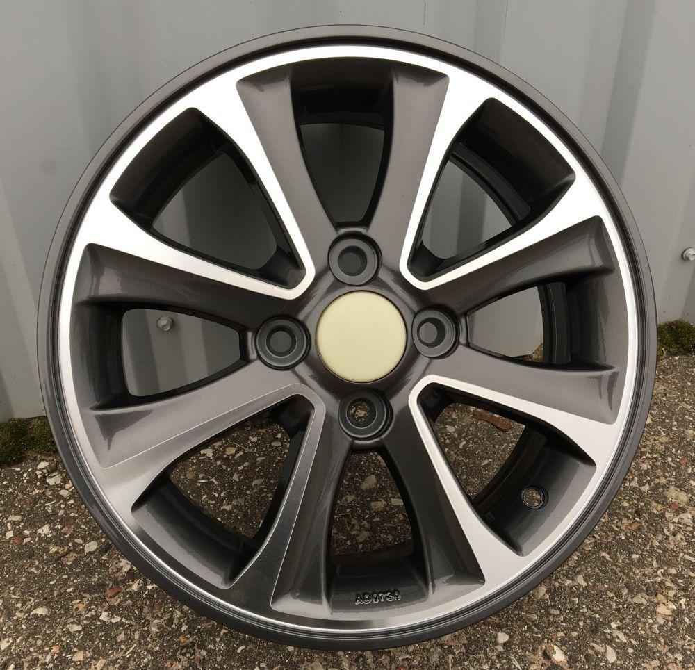 H14X5 4X100 ET41 54.1 BK5105 DARK MG RWR Hyundai (R)## 5x14 ET42 4x100