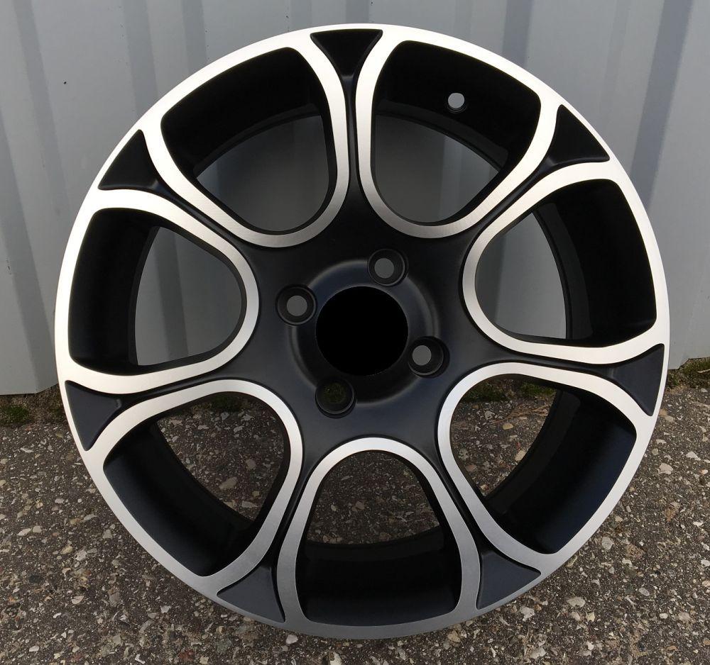 F15X6 4X99 ET35 73.1 BK5164 MB half matt RWR FIA (L5) 6x15 ET35 4x99