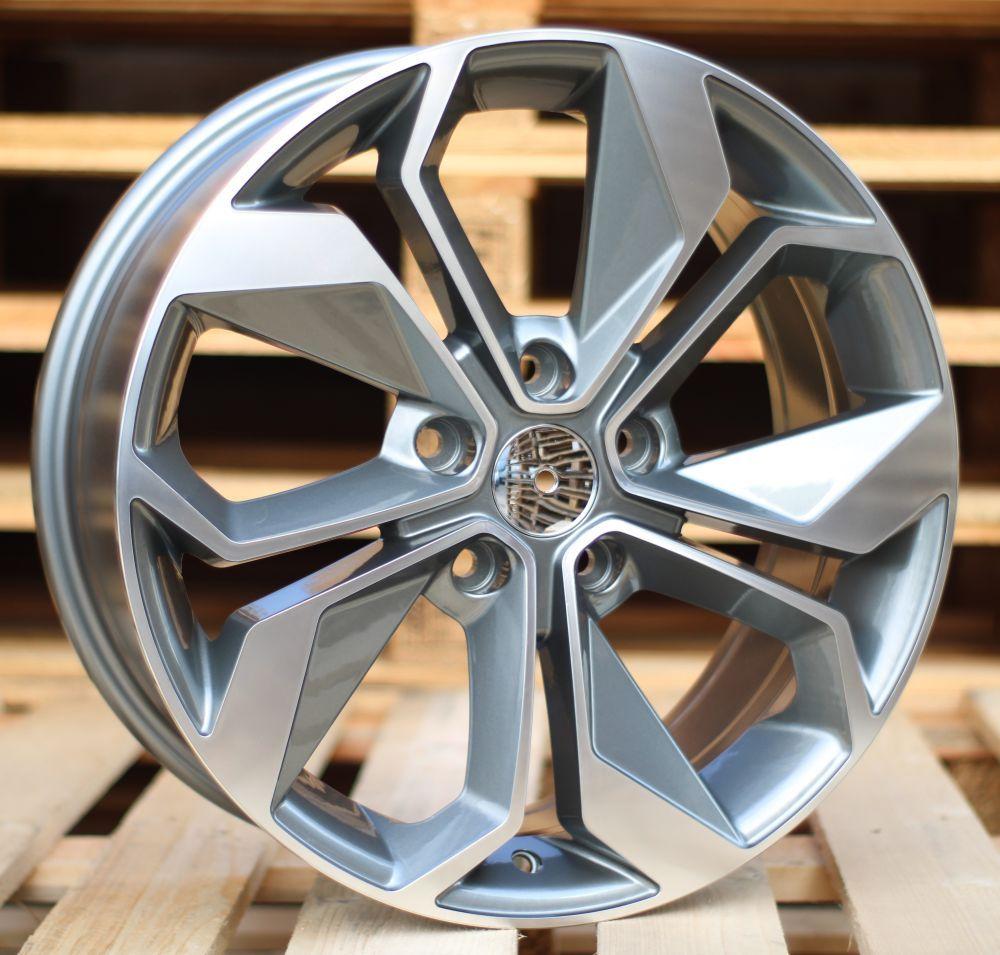 R15X6.5 5X114.3 ET45 66.1 BK5168 MG RWR Renault (L4) 6.5x15 ET45 5x114.3