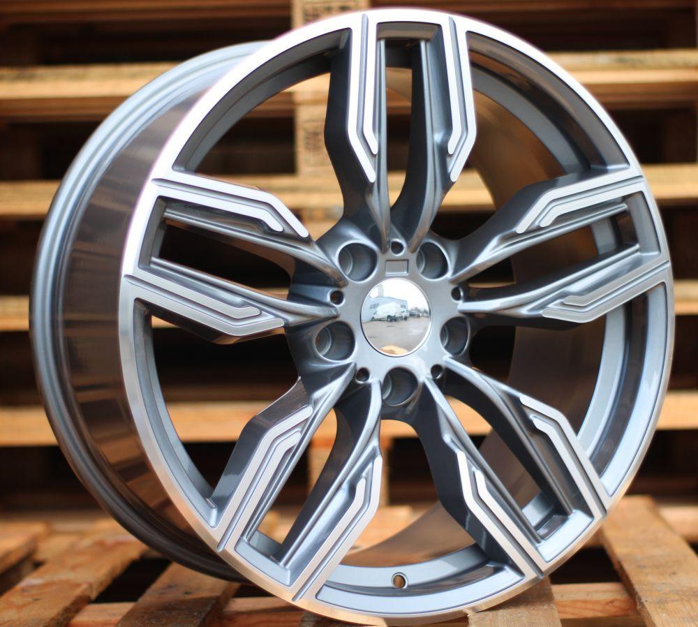 B20X10 5X120 ET40 72.6 BK5181 MG (Rear+Front) RWR BM (AKC 105) (A) 10x20 ET40 5x120