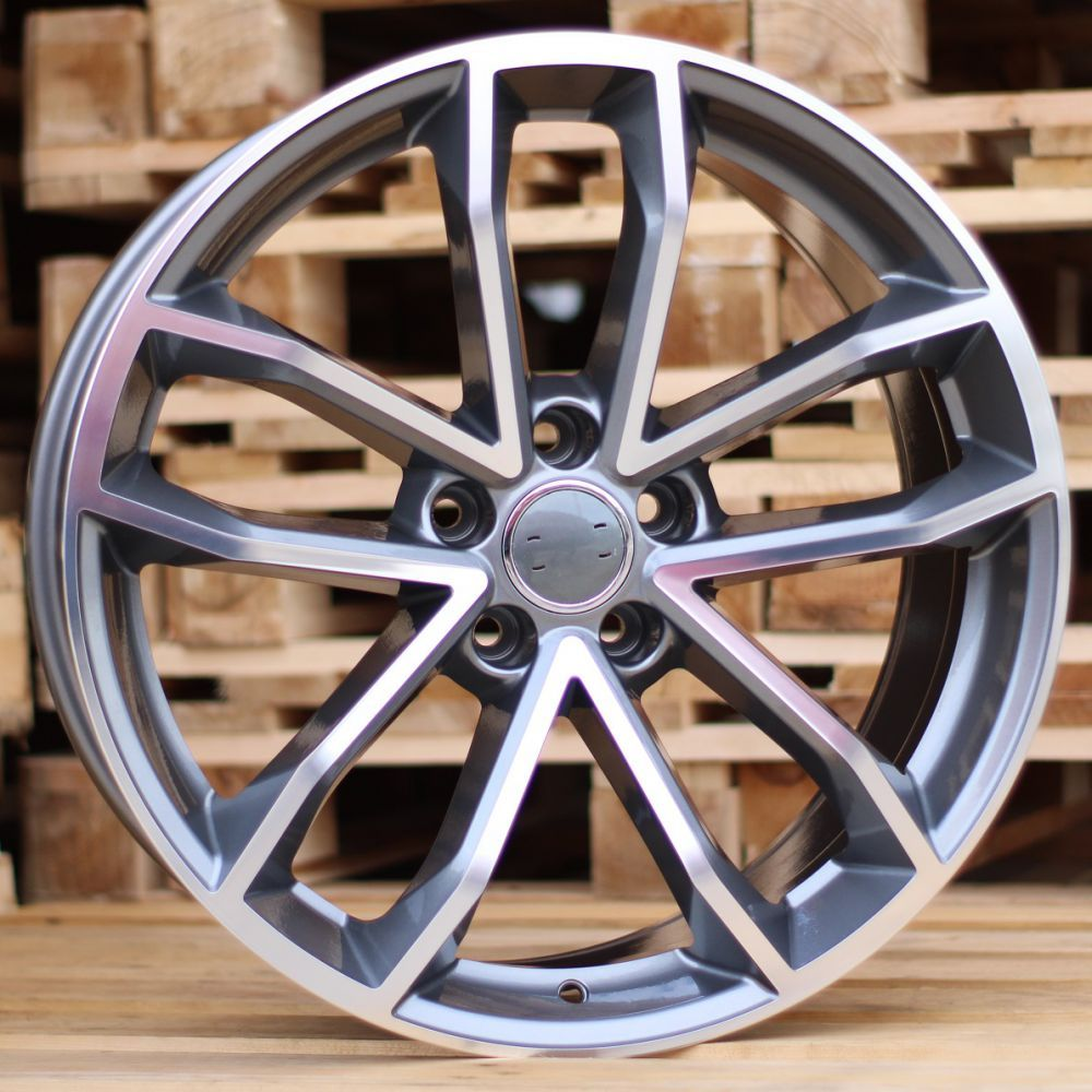 A19X8.5 5X112 ET32 66.45 BK5232 (BY1245) MG+Powder Coating RWR AUD (+3eur) (K4)## 8.5x19 ET33 5x112