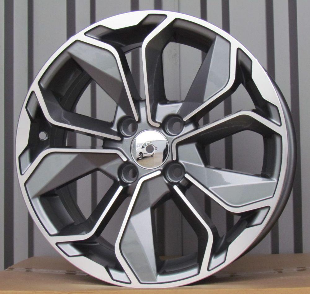 R14X5.5 4X100 ET40 60.1 BK5296 MG RWR Renault (R)## 5.5x14 ET41 4x100