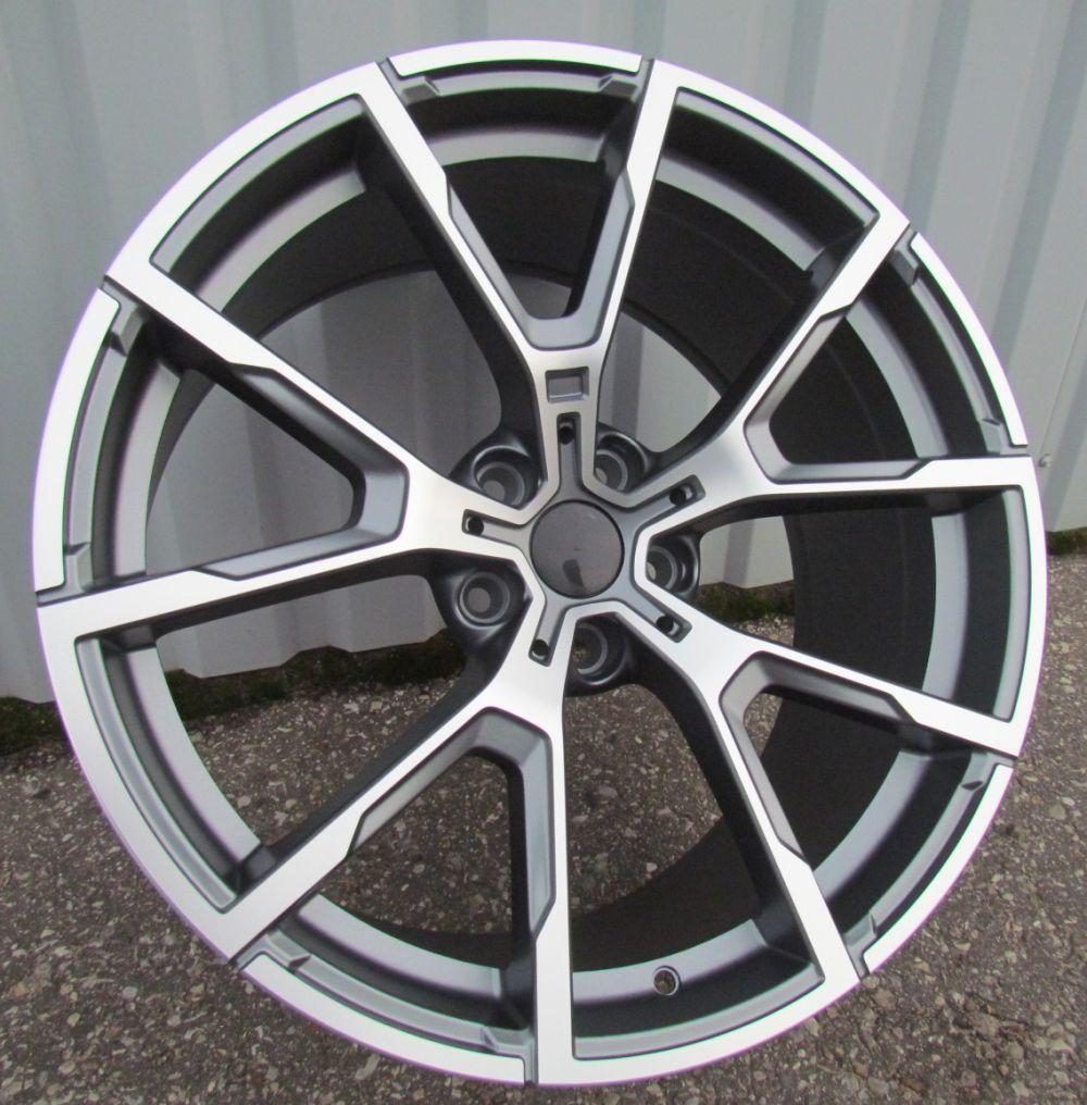 B20X10 5X120 ET40 72.6 BK5601 MG+Powder Coating (Rear+Front) RWR BM (+5eur) (K2)## 10x20 ET41 5x120