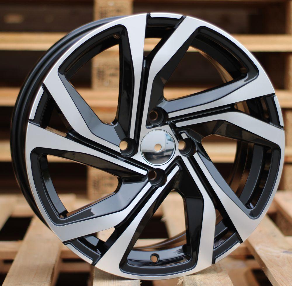 R16X6.5 5X114.3 ET41 66.1 BK5762 MB RWR Renault (R)## 6.5x16 ET42 5x114.3