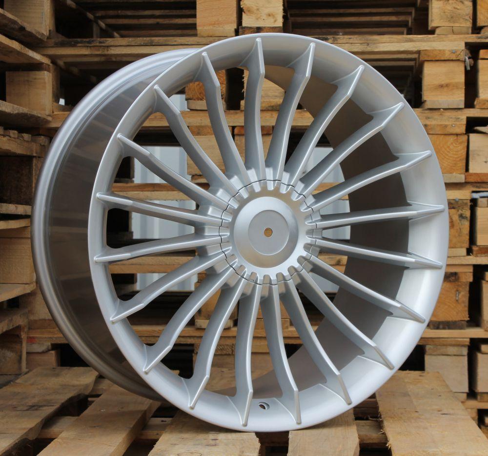 B18X8.5 5X120 ET33 72.6 BK273 SI (Rear+Front) RWR Style Alpina (K2+P)## 8.5x18 ET34 5x120