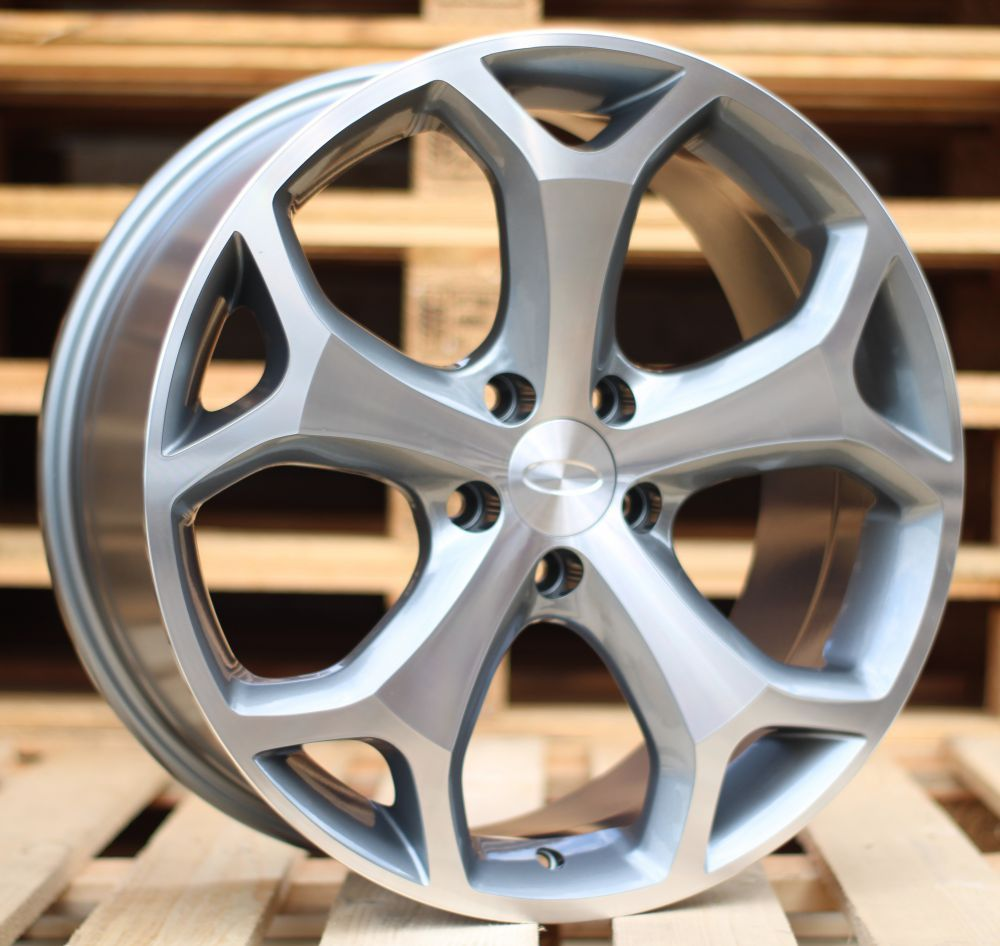 F18X8 5X108 ET50 63.3 BK386 MG+Powder Coating RWR FOR (+3 eur) (K2)## 8x18 ET52 5x108