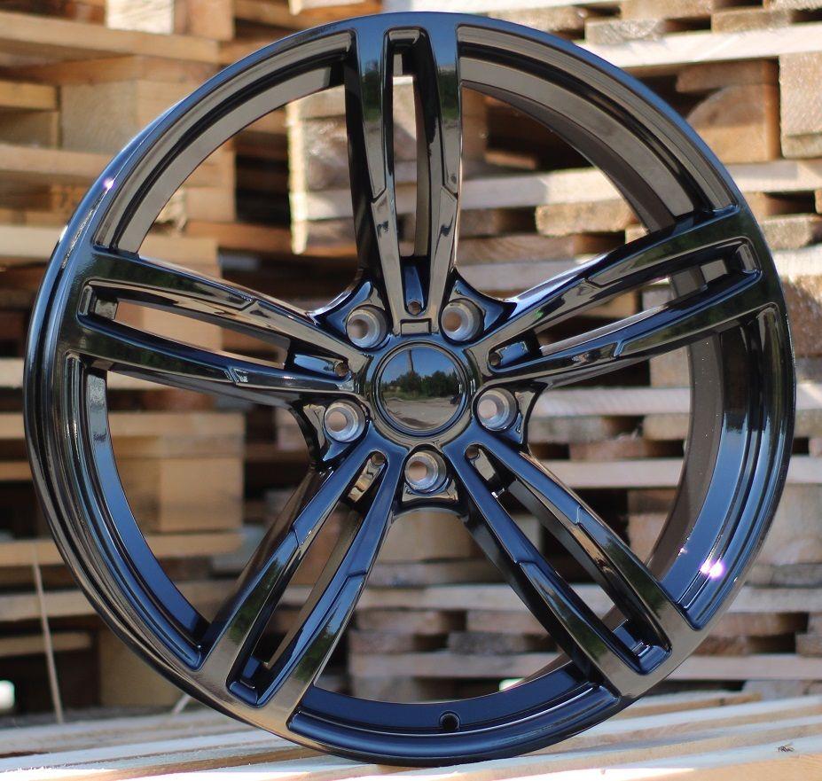 B20X9.5 5X120 ET40 72.6 BK855 (HE718) Black (Rear+Front) BM (P1)## 9.5x20 ET41 5x120
