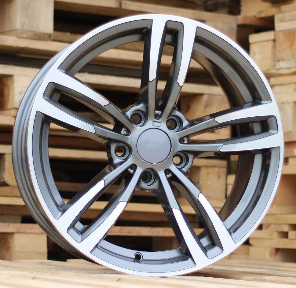 B18X9 5X120 ET40 72.5 BK855 (BY1121) MG+Powder coating (rear+front) BM (+3eur) (P2)## 9x18 ET43 5x120