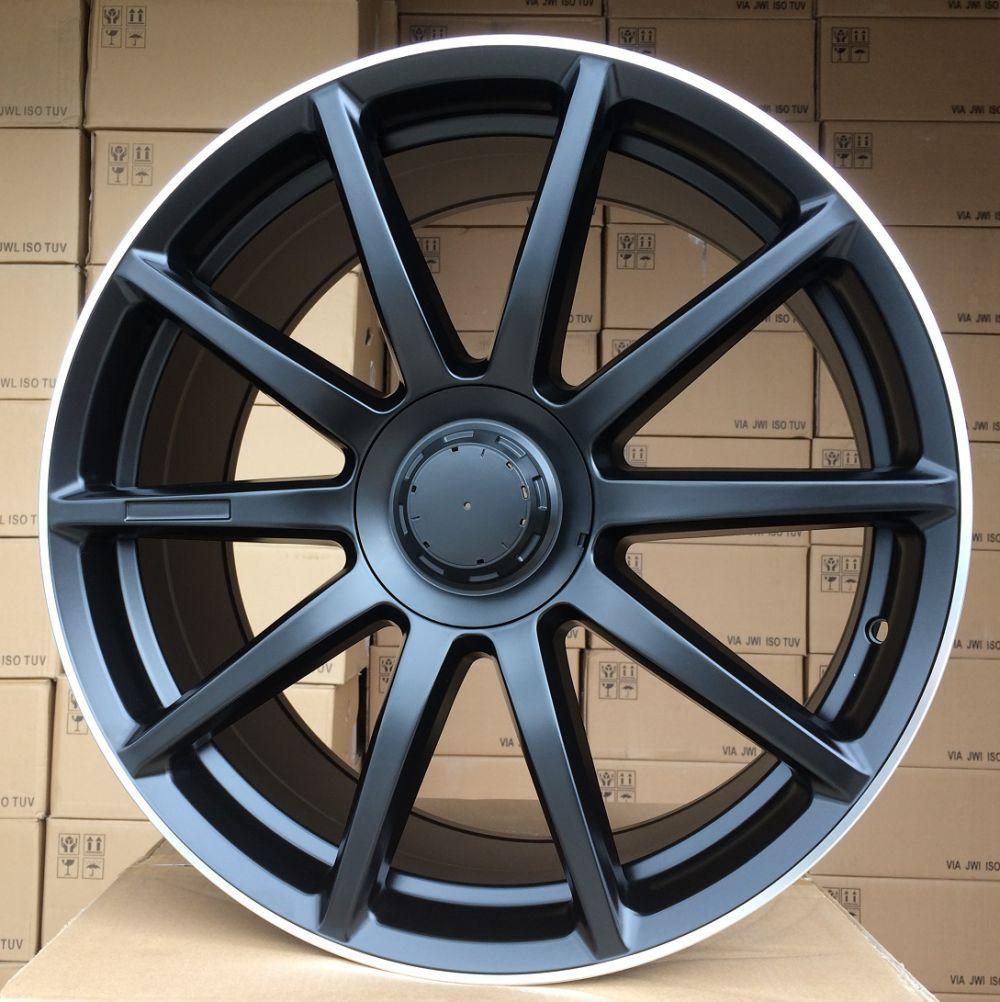 M20X8.5 5x112 ET35 66.5 BK913 Black Half Matt+PL (Rear+Front) MER (+15eur)(K2)## 8.5x20 ET34 5x112