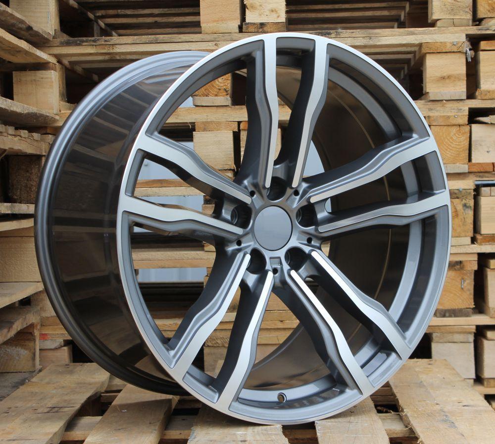 B19X8.5 5X120 ET30 72.6 BY588 MG+Powder coating RWR BM (K4) 8.5x19 ET31 5x120