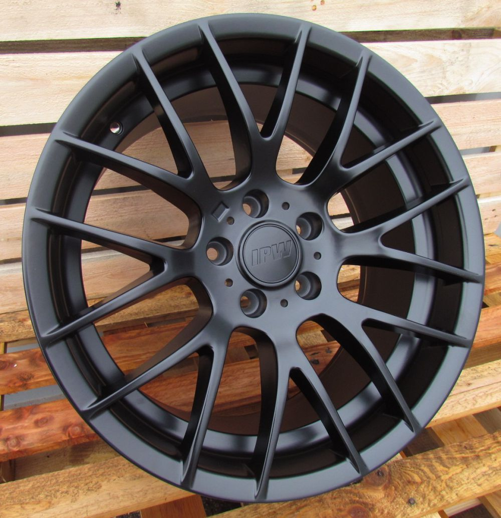 B19X8.5 5X120 ET33 72.6 BY956 Black (Rear+Front) RWR BM (P)## 8.5x19 ET32 5x120