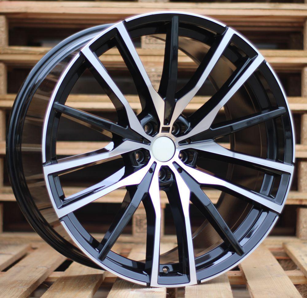 B22X10.5 5X112 ET43 66.6 H0324 (BY1473) MB+Powder coating (Rear+Front) RWR BM(+5eur) (K5) 10.5x22 ET43 5x112