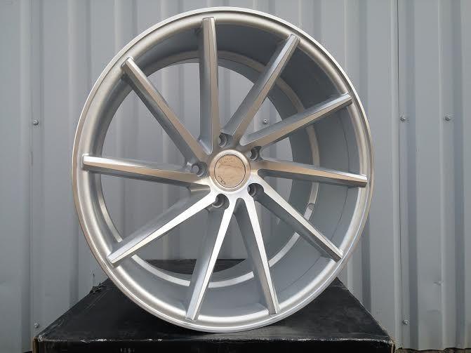 B19X9 5X120 ET35 72.6 XF096 MS (Front+Rear) RWR Style Vossen (AKC 85)(K7) 9x19 ET31 5x120